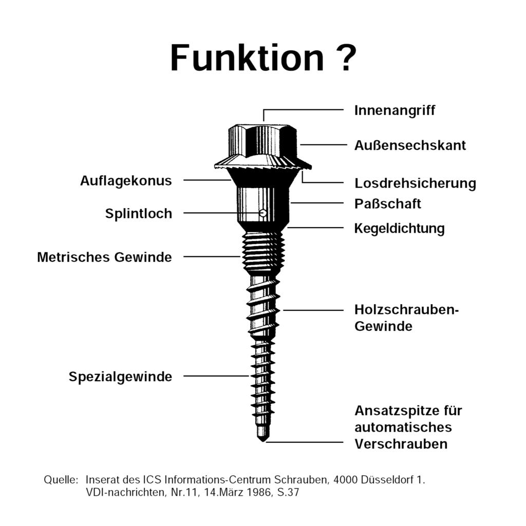 Multifunktionsschraube